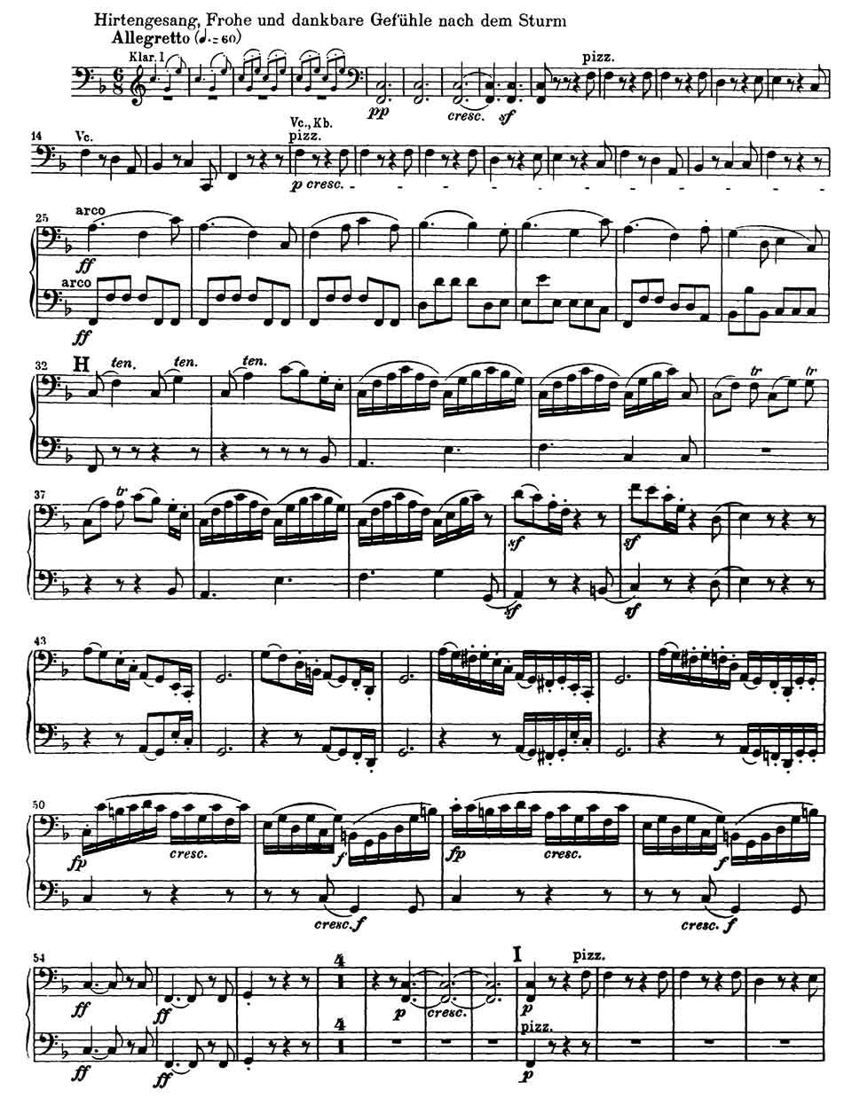Beethoven Symphony 6 Cello excerpt-1
