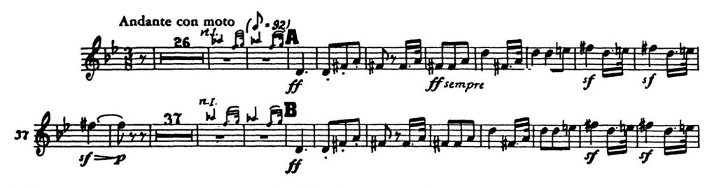 Beethoven_Symphony 5 orchestra audition excerpt Trumpet 1c