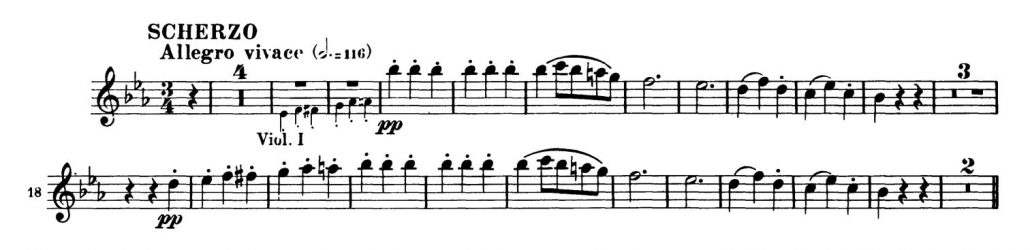 Beethoven_Symphony_No_3_Oboe orchestra audition excerpts 2