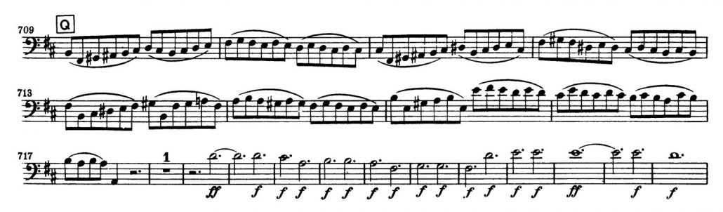 Beethoven_Symphony_No_9_Bassoon orchestra audition excerpt 3