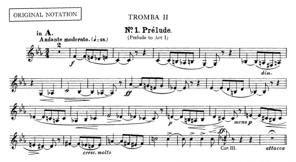 Bizet_Carmen_Prelude orchestra audition excerpt Trumpet 1c