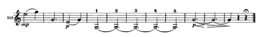 Brahms_Symphony 2 orchestra audition excerpt Trumpet 2a