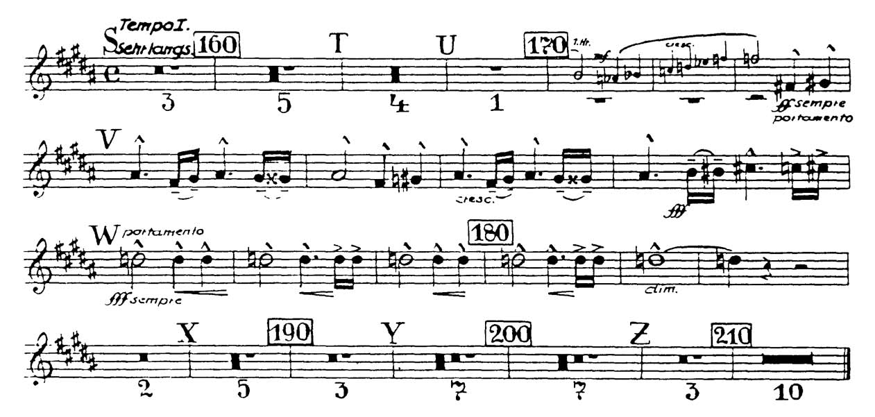 All Music Chords paramore sheet music : Trumpet: Bruckner: Symphony No. 7 (7 Excerpts) - Orchestra Excerpts