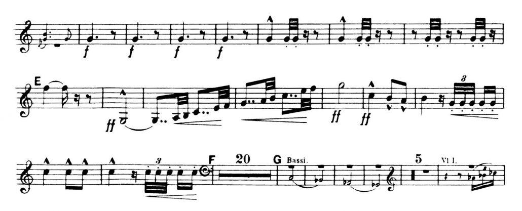 Dvorak_Symphony 8 orchestra audition excerpts Trumpet 2a