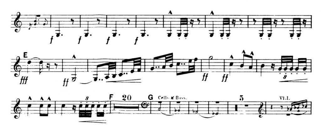 Dvorak_Symphony 8 orchestra audition excerpts Trumpet 2c
