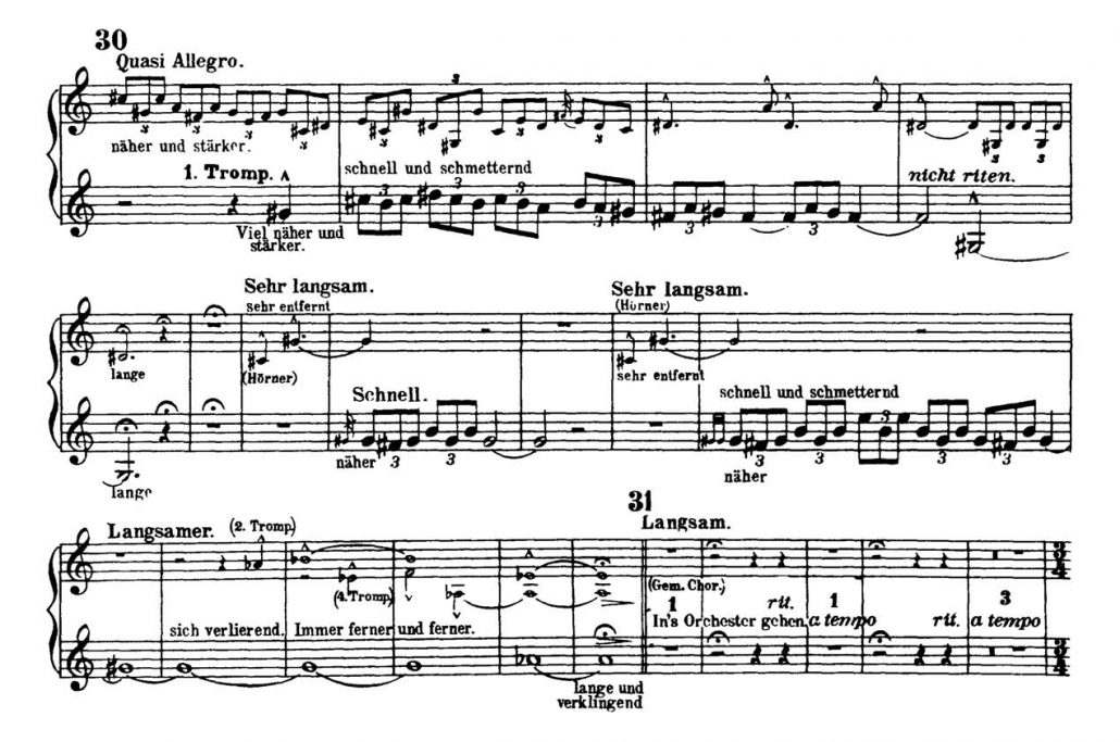 Mahler_Symphony 2 orchestra audition excerpts Trumpet 3