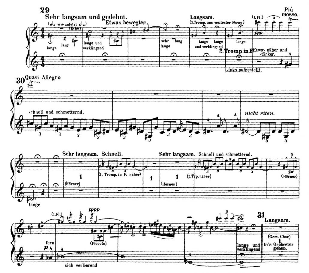 Mahler_Symphony 2 orchestra audition excerpts Trumpet 3b