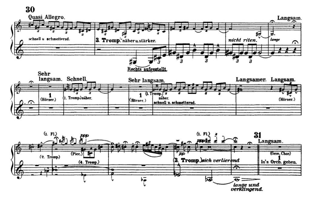 Mahler_Symphony 2 orchestra audition excerpts Trumpet 3c