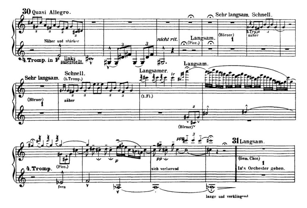 Mahler_Symphony 2 orchestra audition excerpts Trumpet 4d