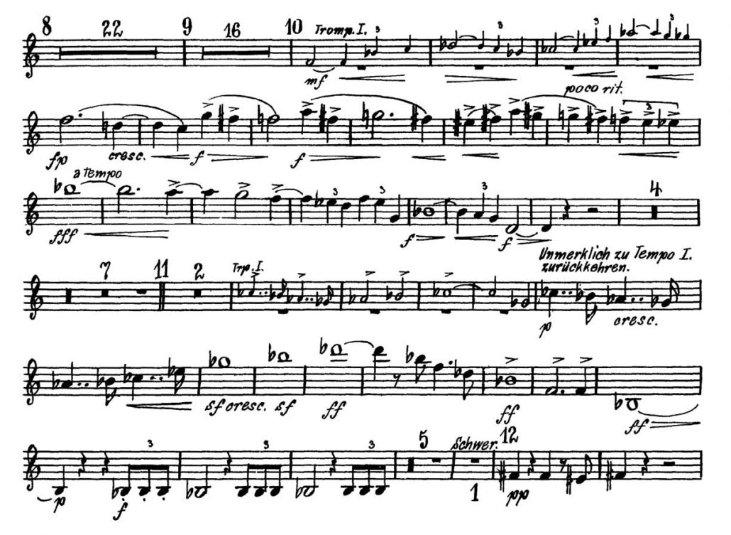Mahler_Symphony_No_5 Orchestra Audition excerpts_Trumpet 3b