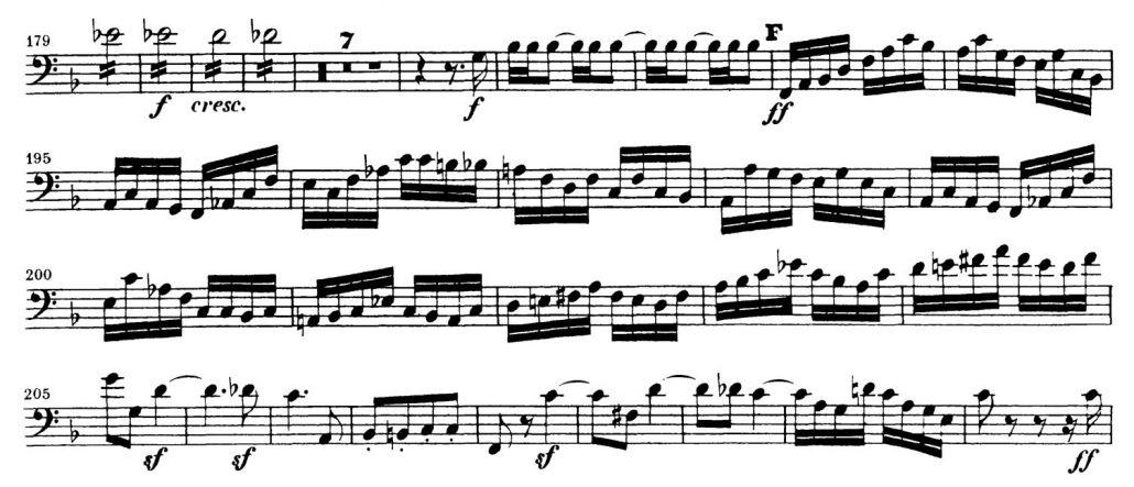Mendelssohn_Symphony 3_Bassoon orchestra audition excerpt 2