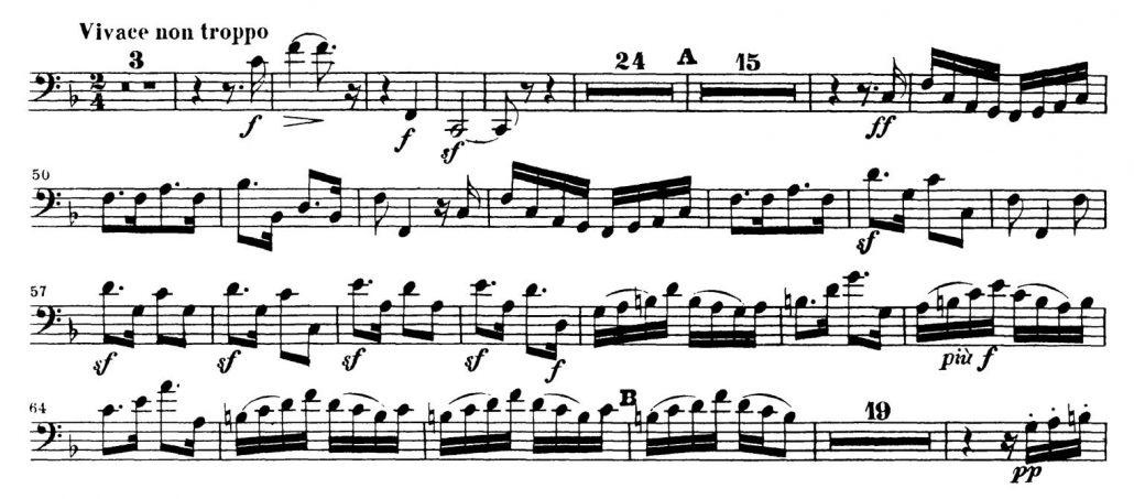 Mendelssohn_Symphony_No_3_Bassoon orchestra audition excerpt