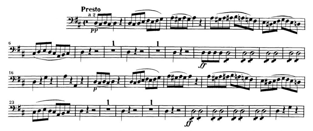 Mozart_Marriage_Figaro_Bassoon orchestra audition excerpt