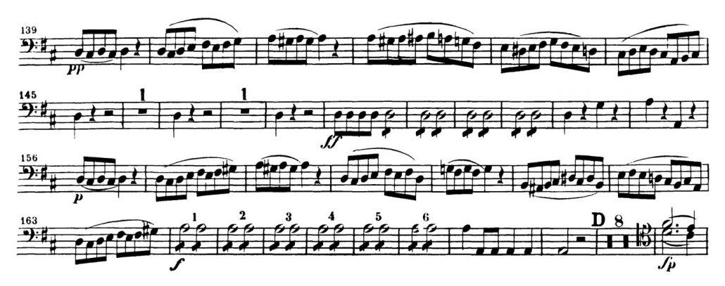 Mozart_Marriage_Figaro_Bassoon orchestra audition excerpt 3