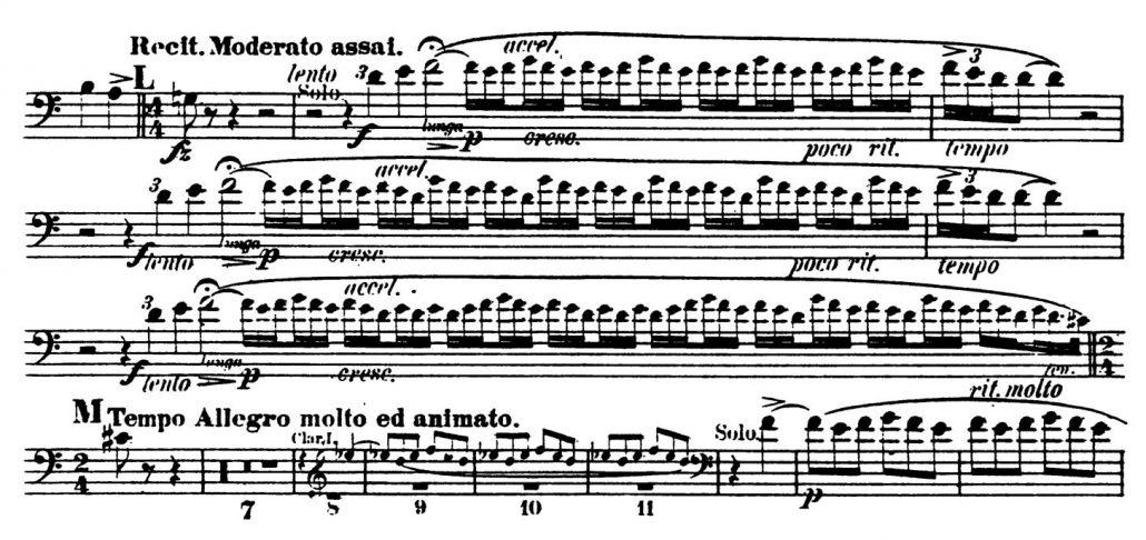 Rimsky-Korsakov Scheherazade_Bassoon orchestral audition excerpt 2