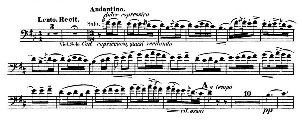 Rimsky-Korsakov_Scheherazade_Bassoon orchestral audition excerpts