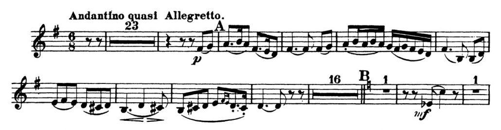 Rimsky-Korsakov_Scheherazade_Oboe Orchestra Audition excerpts