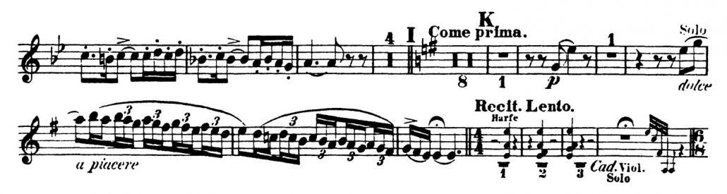 Rimsky-Korsakov_Scheherazade_Oboe Orchestra AuditionLexcerpts 4