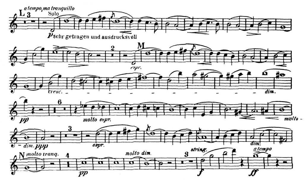 Strauss_Don_Juan orchestral audition excerpt