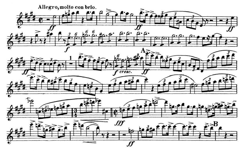 Strauss_Don_Juan_Oboe Orchestra audition excerpts