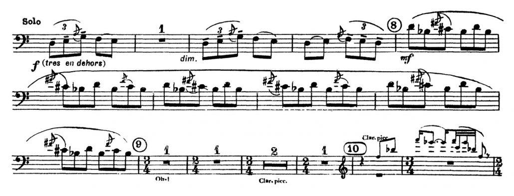 Stravinsky_Rite_of_Spring_Bassoon orchestra excerpt excerpt 2