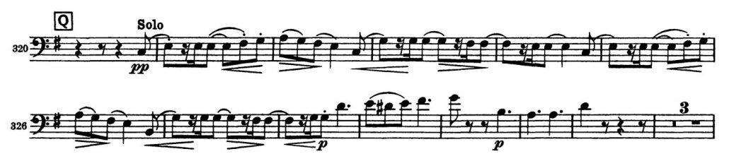 Tchaikovsky_Symphony_No_5_Bassoon orchestra audition excerpt