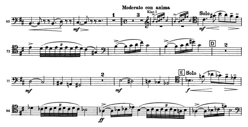 Tchaikovsky_Symphony_No_5_Bassoon orchestra audition excerpt 2