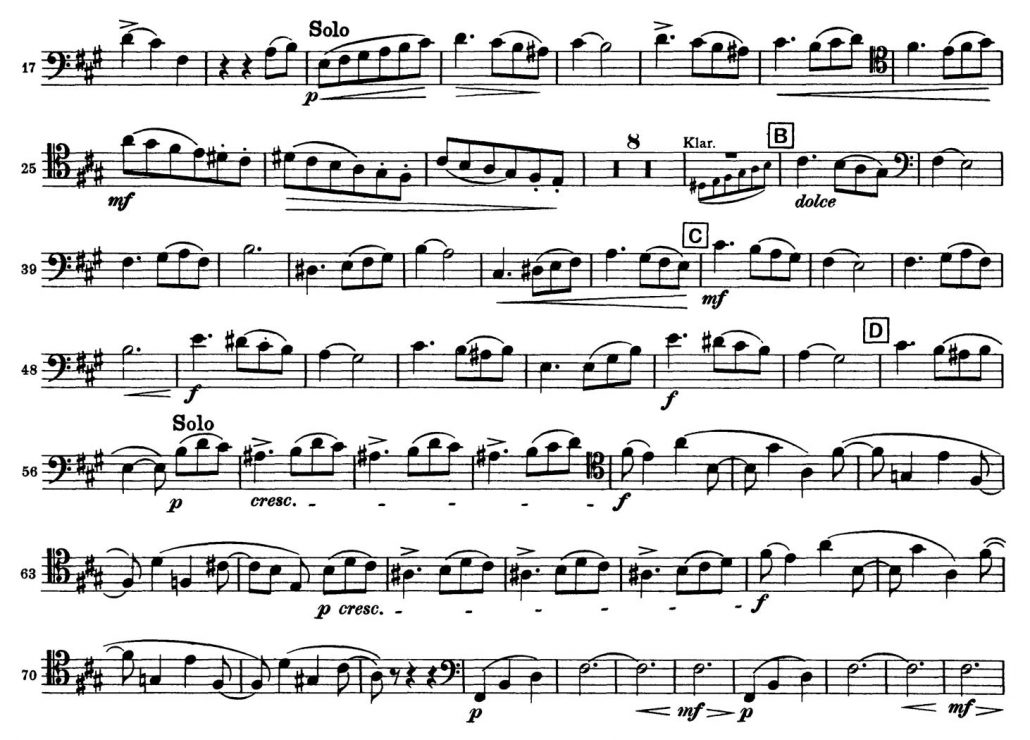 Tchaikovsky_Symphony_No_5_Bassoon orchestra audition excerpt 3