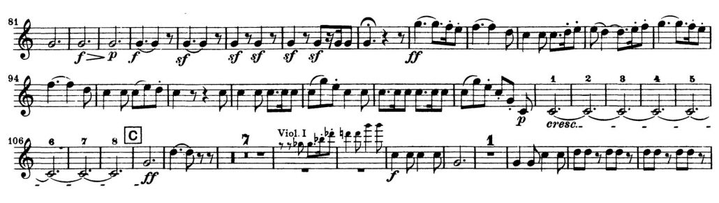 beethoven_symphony_no_7-orchestra-audition-excerpt-horn-1a