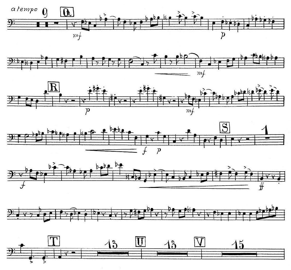 March from Symphonic Metamorphosis Trombone III