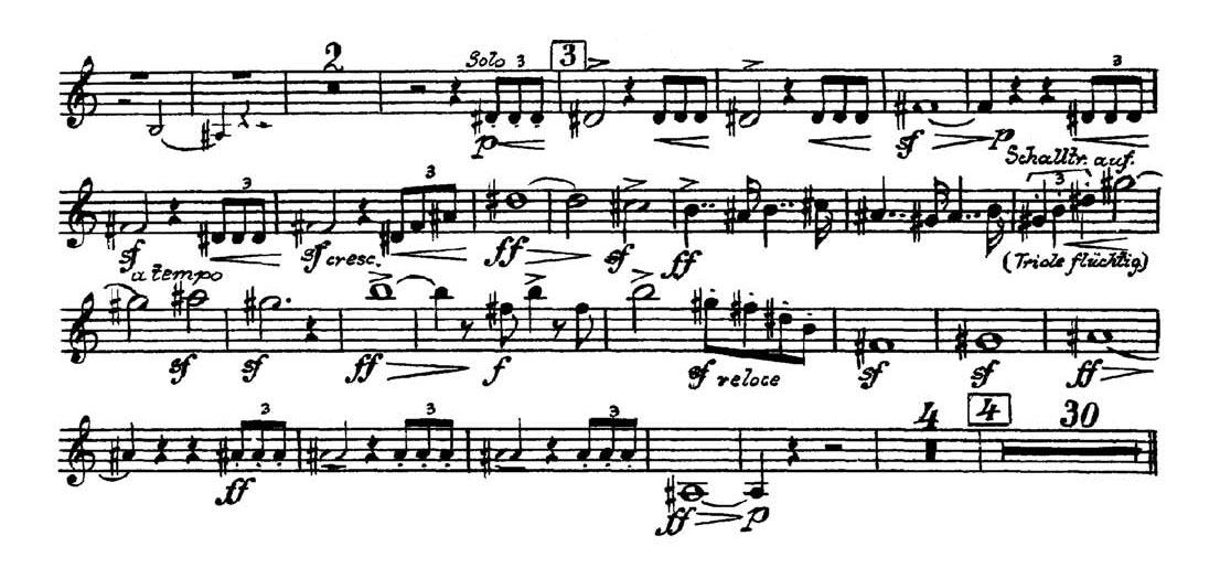 Trumpet: Mahler: Symphony No  5 (5 Excerpts) - Orchestra