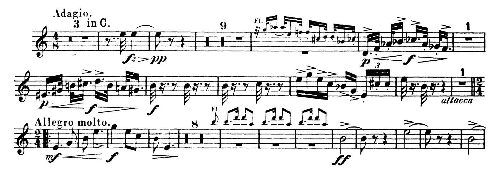 Horn: Dvorak: Symphony No  9 (3 Excerpts) - Orchestra Excerpts