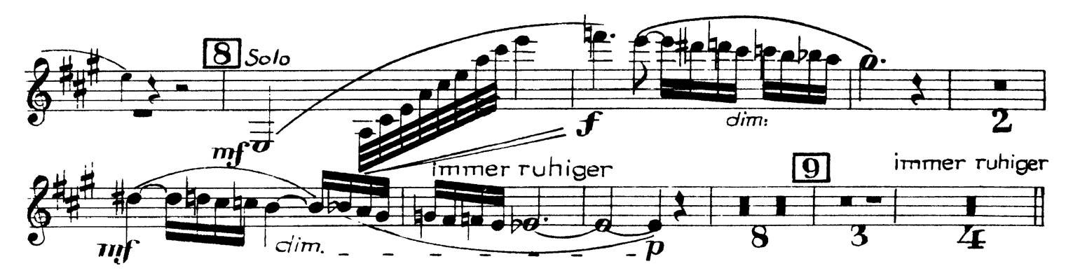 Clarinet: R  Strauss: Also Sprach Zarathustra (3 Excerpts